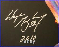 Wayne Gretzky Autographed Canada 2010 Olympic Torch 16X20 Photo JSA #/199