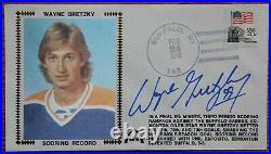 Wayne Gretzky Autographed Gateway Stamp Cachet Envelope