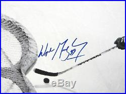 Wayne Gretzky Autographed Hand Signed 24X32 Canvas In The Office #/99 WGA