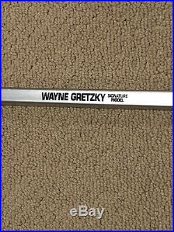 Wayne Gretzky Autographed Hockey Stick LA authentic Easton WG99