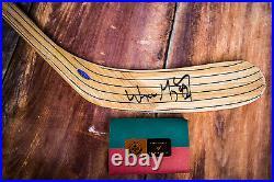 Wayne Gretzky Autographed Hockey Stick with COA UPPER DECK