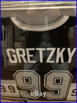 Wayne Gretzky Autographed La Kings Jersey Certified By Wga Wayne Gretzky Authent