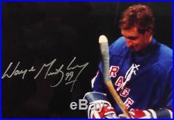 Wayne Gretzky Autographed Signed Framed 16x20 Photo Rangers #72/99 WGA 996540