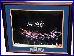 Wayne Gretzky Edmonton Oilers SIGNED Autographed 16x20 Photo COA AUTO