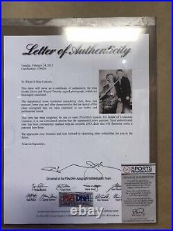 Wayne Gretzky Gordie Howe The Hook Dual Autograph RARE RARE