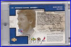 Wayne Gretzky Pros And Prospects 00/01 Auto Jersey 4/50