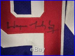 Wayne Gretzky SIGNED New York Rangers Home Jersey