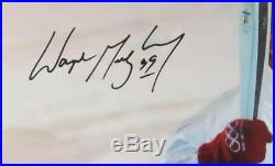 Wayne Gretzky Signed Autographed 16X20 Photo Running with Olympic Torch #/199 JSA