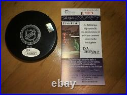Wayne Gretzky Signed Autographed New York Rangers Official Hockey Puck WITH COA