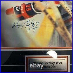 Wayne Gretzky Signed EDMONTON OILERS Limited-Edition Framed 16x20 Photo 13/99