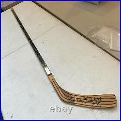 Wayne Gretzky Signed Easton Game Issued Hockey Stick With JSA COA LA Kings