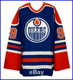 Wayne Gretzky Signed Edmonton Oilers Authentic CCM NHL Hockey Jersey UDA