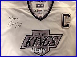 Wayne Gretzky Signed Game Jersey, Hockey Stick, Picture Plaque &Cufflink PSA DNA