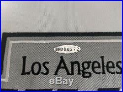Wayne Gretzky Signed La Kings Captain Jersey 299/1000 Uda Sticker Pc912