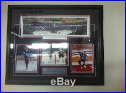 Wayne Gretzky Signed Photos Frame Of Last Game (wga)