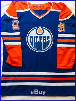 Wayne Gretzky Signed auto Edmonton Oilers Jersey with COA