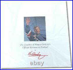 Wayne Gretzky The Great Farewell 27X33 Signed by Ken Danby Limited Litho /9999