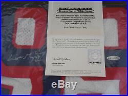 Wayne Gretzky UDA Signed New York Rangers White Starter Auto Jersey Autograph