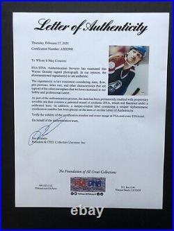 Wayne Gretzky autographed signed 8x10 photo PSA/DNA COA Letter Edmonton Oilers