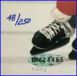 Wayne Gretzky signed 8x10 Rangers photo Mint Autograph HOF UDA COA LE /250