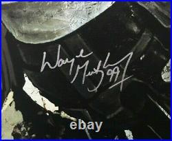 Wayne Gretzky signed Stephen Holland Great One canvas art mint auto COA LE /15