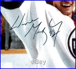 Wayne Gretzky signed autographed 8x10 photo! RARE! Edmonton Oilers! JSA LOA