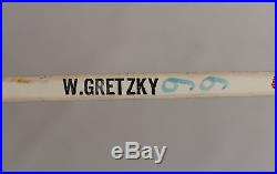 Wayne Gretzky signed autographed game issued 1982 hockey stick! RARE! Authentic
